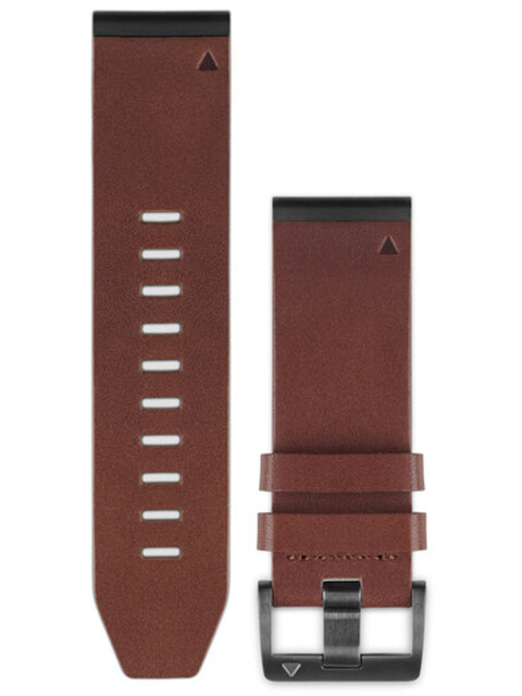 Garmin fenix 5x/3 Lederarmband QuickFit 26mm brown